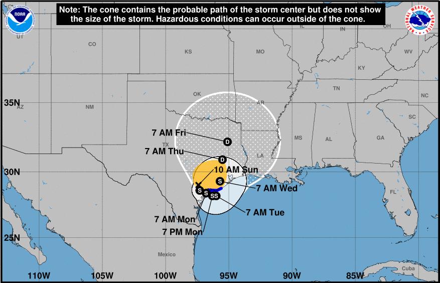 Harvey May Find Open Water - Houston Already Has