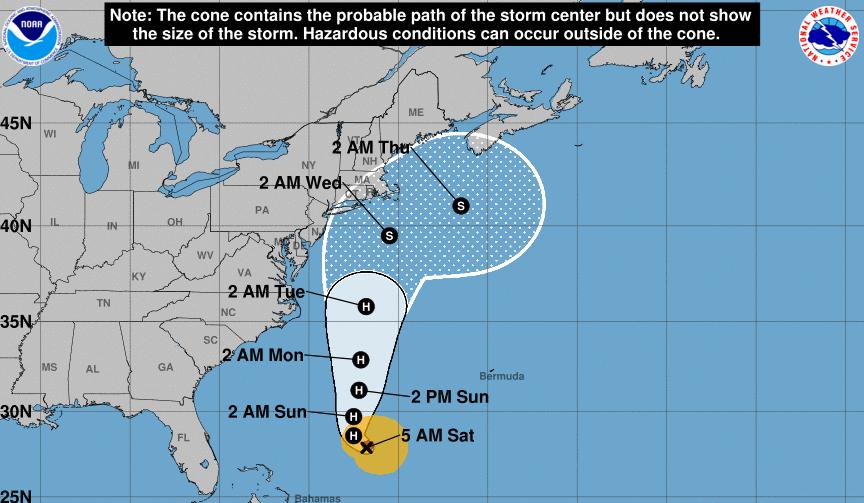 Hurricane Jose Threatens New York City