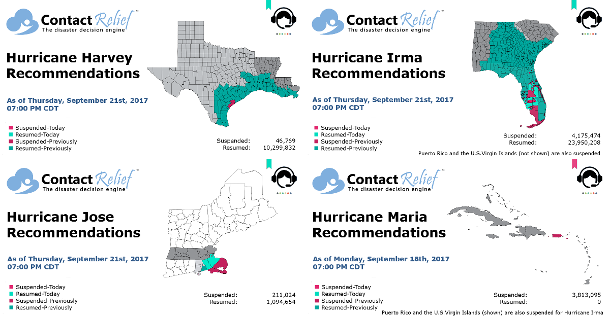 ContactRelief Hurricane Recommendations For Contact Centers
