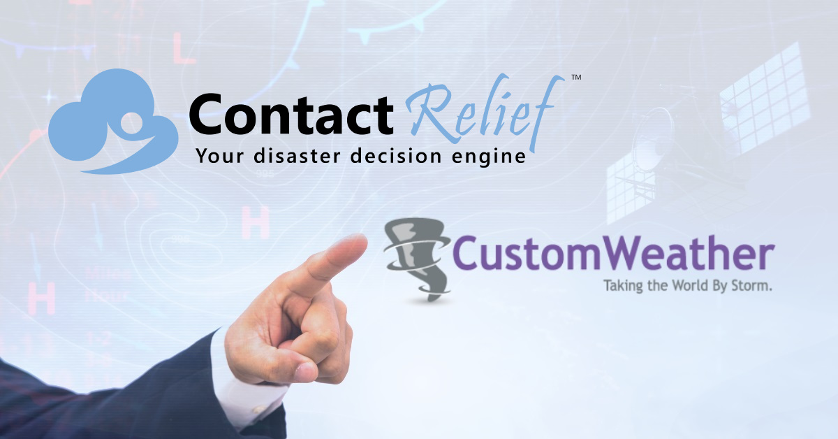 ContactRelief Selects CustomWeather Meteorological Services
