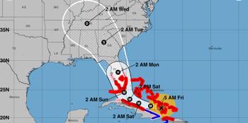 Florida readies for direct impact by Hurricane Irma.