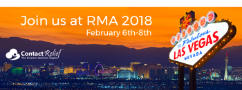 Join ContactRelief in Las Vegas at the RMA 2018 Conference, February 6th-8th