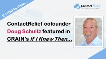 ContactRelief co-founder Doug Schultz featured in Crain's Houston