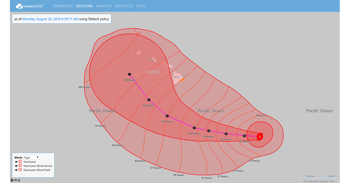 Hurricane Lane to Miss Hawaii as Typhoon Cimaron Troubles Northern Marianas