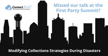 Missed our Collection Strategy Talk at the First Party Summit?