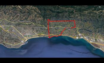 Public Exclusion Zone Declared in California Mudslides