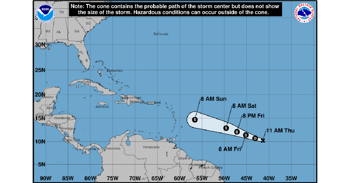 Tropical Storm Beryl Forms In Atlantic